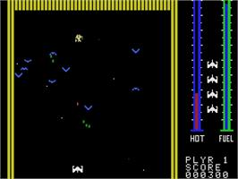 In game image of Threshold on the Coleco Vision.