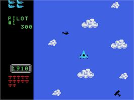 In game image of Time Pilot on the Coleco Vision.