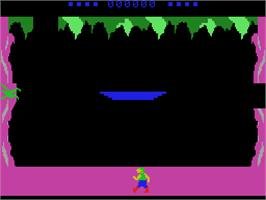 In game image of Tomarc the Barbarian on the Coleco Vision.