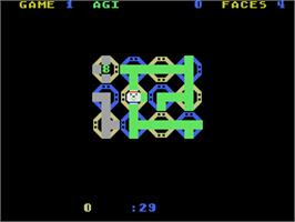 In game image of Zenji on the Coleco Vision.