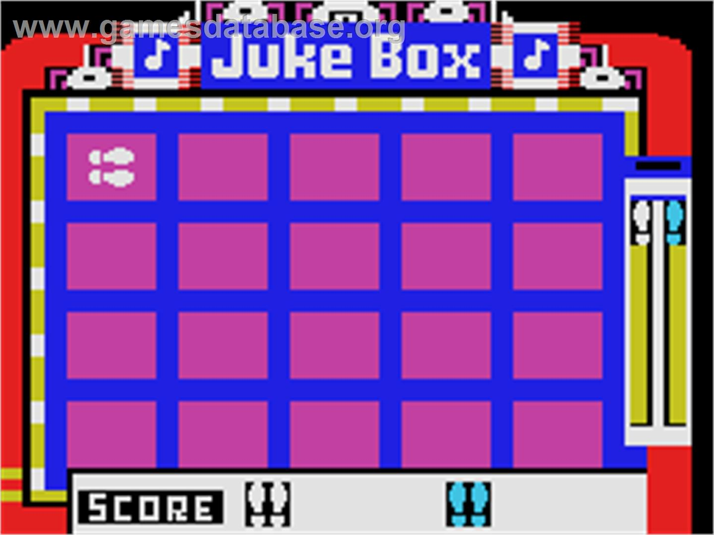 Juke Box - Coleco Vision - Artwork - In Game