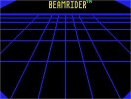 Title screen of Beamrider on the Coleco Vision.