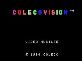 Colecovision video hustler