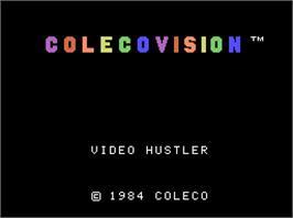 Colecovision video hustler