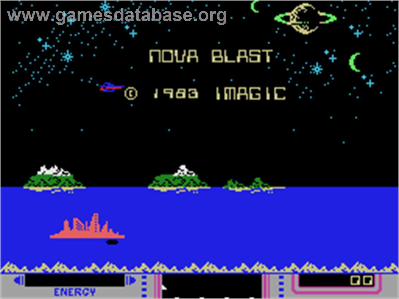 Nova Blast Coleco Vision Games Database