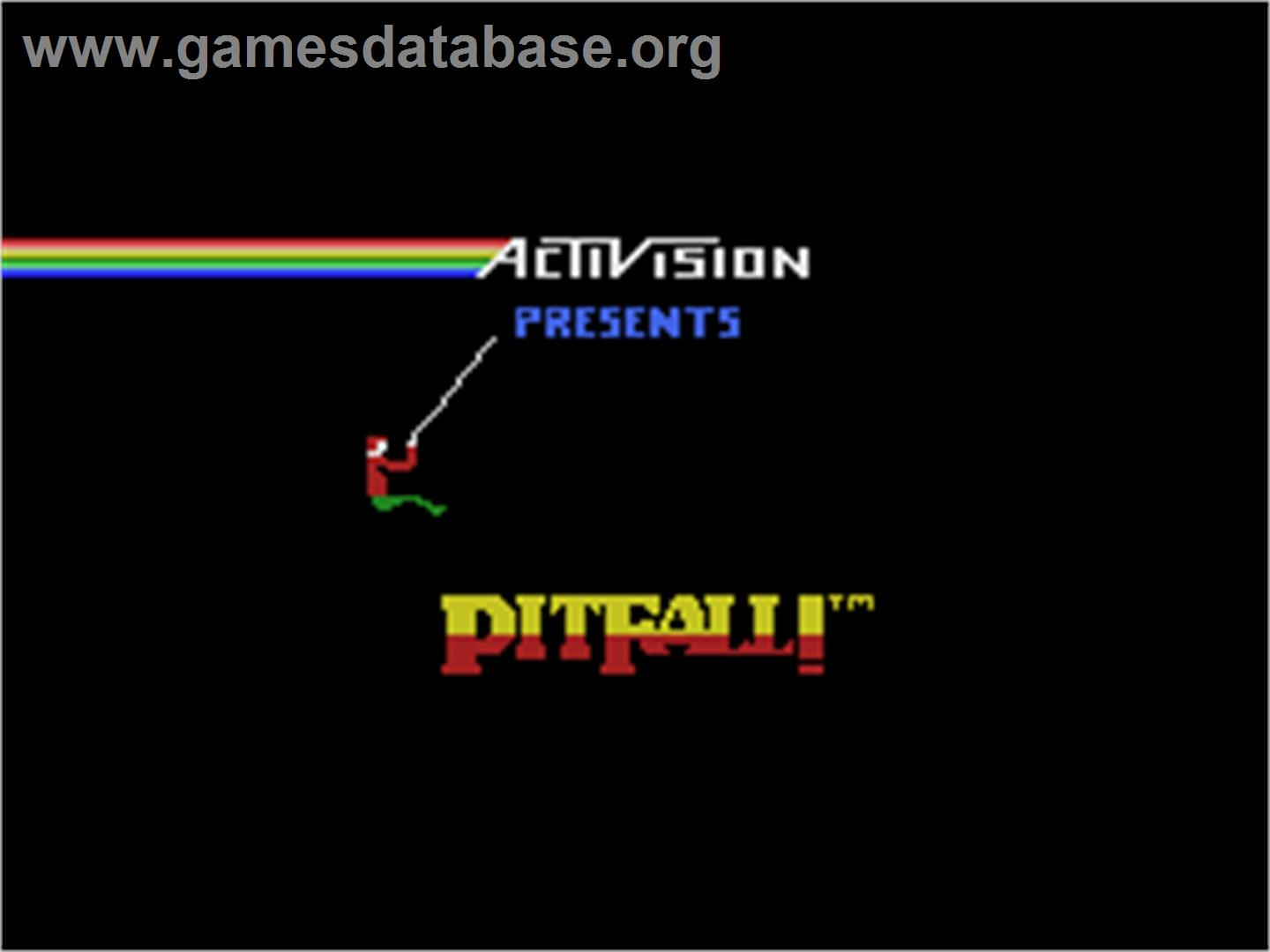 Pitfall - Coleco Vision - Artwork - Title Screen