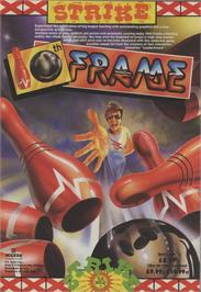 Advert for 10th Frame on the MSX 2.