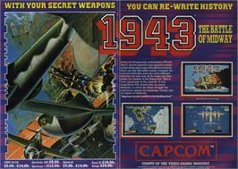 Advert for 1943: The Battle of Midway on the Commodore 64.