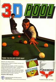 Advert for 3D Pool on the Commodore 64.