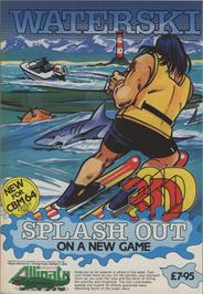 Advert for 3D Waterski on the Commodore 64.