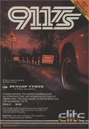Advert for 911 Tiger Shark on the Commodore 64.