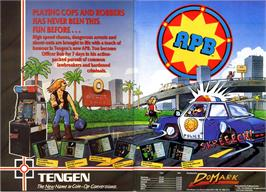 Advert for APB on the Microsoft DOS.