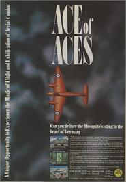 Advert for Ace of Aces on the MSX 2.