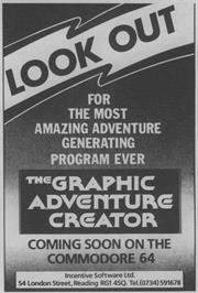 Advert for Adventure Creator on the Atari 8-bit.