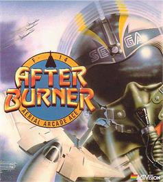 Advert for After Burner on the Commodore 64.