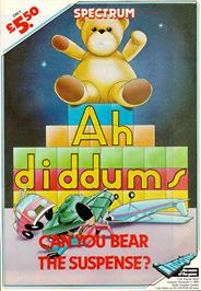 Advert for Ah Diddums on the Commodore 64.