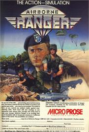 Advert for Airborne Ranger on the Commodore Amiga.