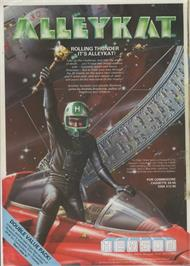 Advert for Alleykat on the Commodore 64.