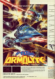Advert for Armalyte on the Commodore 64.