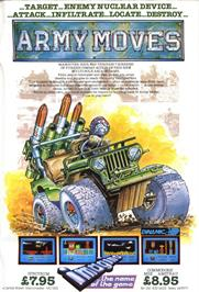 Advert for Army Moves on the Commodore 64.