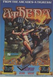 Advert for Athena on the Commodore 64.