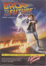 Advert for Back to the Future on the Nintendo NES.