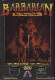 Advert for Barbarian on the Commodore 64.