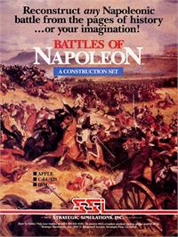 Advert for Battles of Napoleon on the Commodore 64.