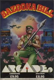 Advert for Bazooka Bill on the Commodore 64.