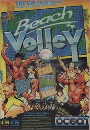 Advert for Beach Volley on the Commodore 64.