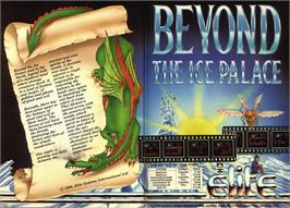 Advert for Beyond the Ice Palace on the Commodore 64.