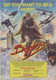 Advert for Biggles on the Amstrad CPC.
