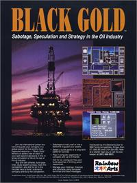 Advert for Black Gold on the Atari ST.
