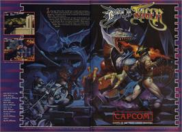 Advert for Black Tiger on the Commodore 64.