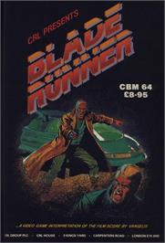 Advert for Blade Runner on the Commodore 64.