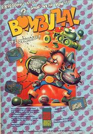 Advert for Bombuzal on the Commodore 64.