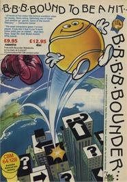 Advert for Bounder on the Commodore 64.