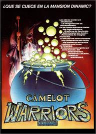 Advert for Camelot Warriors on the Commodore 64.