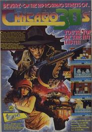 Advert for Chicago 30's on the Commodore 64.