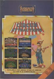 Advert for Circus Attractions on the Commodore 64.