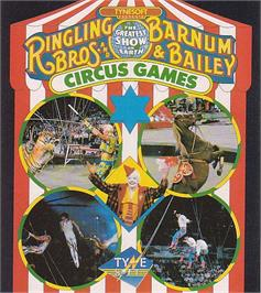 Advert for Circus Games on the Commodore 64.