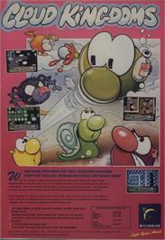 Advert for Cloud Kingdoms on the Commodore Amiga.