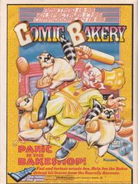 Advert for Comic Bakery on the MSX.