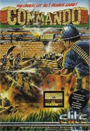 Advert for Commando on the Commodore 64.