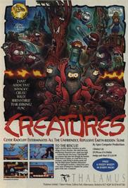 Advert for Creatures 2: Torture Trouble on the Commodore 64.