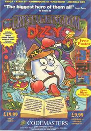 Advert for Crystal Kingdom Dizzy on the Commodore Amiga.