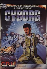 Advert for Cyborg on the Atari 8-bit.