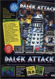 Advert for Dalek Attack on the Commodore 64.