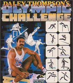 Advert for Daley Thompson's Olympic Challenge on the Commodore 64.