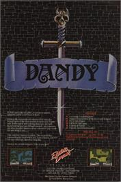 Advert for Dandy on the Amstrad CPC.